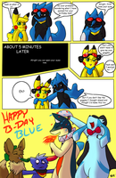 Blue's Gift~ by DewwyDarts