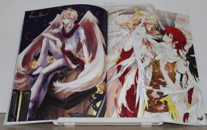 Anime Angels artbook - interior art photo #2 by animeangelsbook