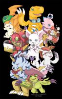Digimon by yolin