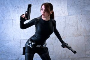 Lara Croft catsuit - Necronomicon 8 by TanyaCroft