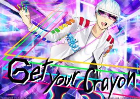 G-DRAGON - GET YOUR CRAYON by Nekozumi