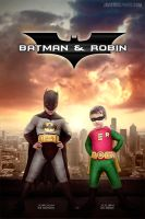 Batman and Robin by Javiergil1910
