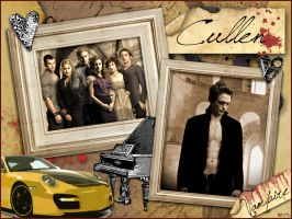 The Cullens-New Moon by daydream--believer