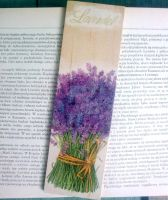 Lavender Bookmark by Eibhlin-san