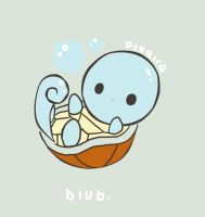 squirtle by pikaira