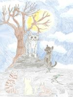 Gather at the Stone by Amlaur by StarClan