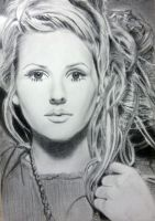 Ellie goulding by XArt-faceX