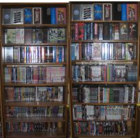 My Anime DVD Collection by Kai-is-mine