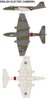 English Electric Canberra by bagera3005