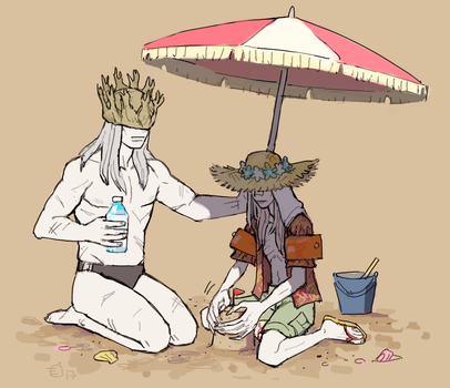 Sexy Beach princes by emlan