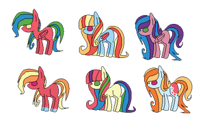 RainbowMac Adoptables (CLOSED) by PricessOfTheNight