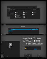 After Dark CC Theme For Windows 10 RTM by cu88