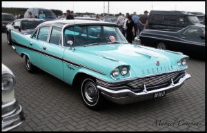 1957 Chrysler New Yorker by compaan-art