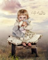 Beautiful little angel by CindysArt