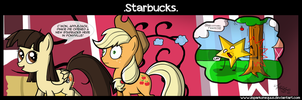 .Comic 27: Starbucks. by ZSparkonequus