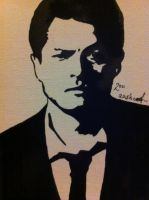 Castiel Misha Collins by AmyLou31