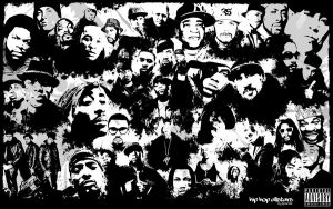 hip hop allstars collage by zpecter