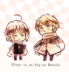 Pluto and Russia by ROSEL-D