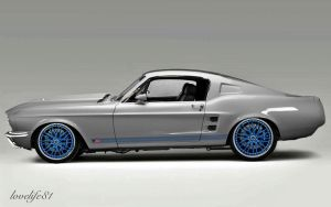 FlashBack Mustang 2 - Alt Wheels by lovelife81
