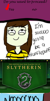 If i was sorted into Slytherin by Akadafeathers