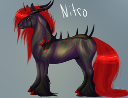 Nitro Ref sheet by Rather-Be-Raving