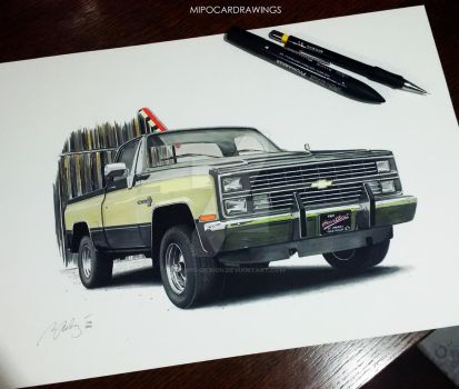 Chevy done by Mipo-Design