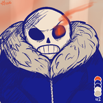 Palette Challenge - Sans by LordBlumiere