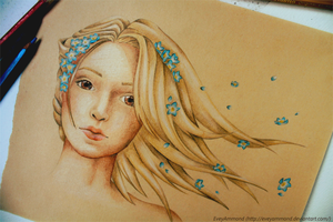 Dreamer - Forget me not by Poppysleaf
