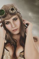 The First SteamPunk Air Pirate by Johnny-Kaos