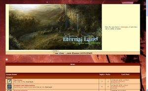 Eternal Land Rp Site by WolfDragonGod