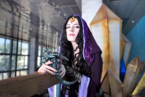 Cosplay Morgana Merlin BBC by Afemera