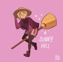Sunny Hill fan art (ChandraHabein's OC) by jmamante02