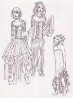Dress designs by Viola-Illyria