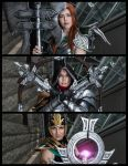The Three Queens by Akishuna-Cosplay