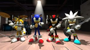 (SFM)The Sonic 40 by CipherHegehog064