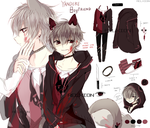 [BOYFRIEND*SERIES] Lineheart Auction#2 : CLOSED by Relxion-kun