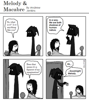 Melody and Macabre: Comic 29 by Ecleian