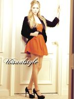 amanda seyfried ID. by unsualstyle