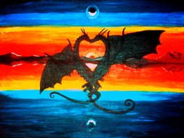 The Love of Dragons by AntonChanning