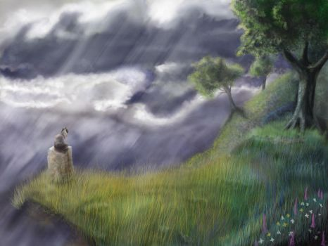 Storm Watcher by Tattered-Artemisia
