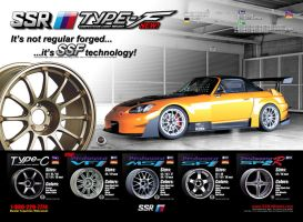 SSR Type-F Ad - S2000 by dkim1985