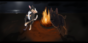 We'll dance like heathens round our flame by Gshep