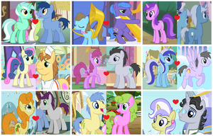 MLP: FiM - Background Shippings by 3D4D