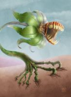 Angry Plant by muzski