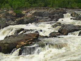 Great Falls of the Potomac 45 by Dracoart-Stock