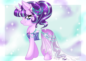 Gala dress - Starlight Glimmer by Nuumia