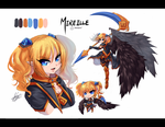 ColorSketch Combo_Mireille by MistiousStar
