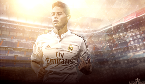 JAMES RODRIGUEZ WALLPAPER by FLETCHER39