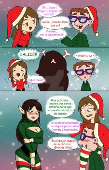 Xmas sweater by Sissiissis