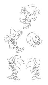 Sonic sketches 2 by Hydro-King